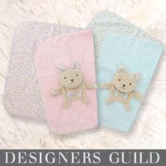 デザイナーズ ギルド ベアマスコット ブランケット dg2010 赤ちゃん/ブランケット/毛布