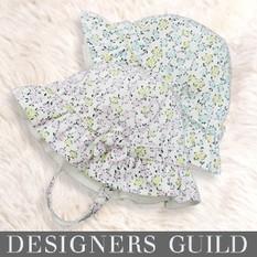 デザイナーズ ギルド 小花プリント ベビー帽子 dg2017 赤ちゃん/ベビーウェア/ベビー 帽子