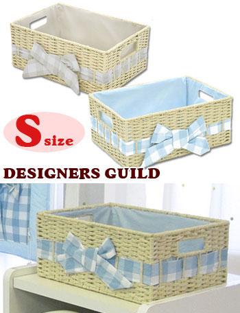 ペーパーボックス バスケット Sサイズ dg3024 赤ちゃん/ベビー/ベビールーム/収納/デザイナーズ ギルド