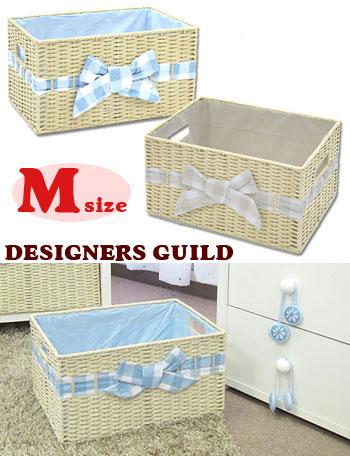 ペーパーボックス バスケット Mサイズ dg3025 赤ちゃん/ベビー/ベビールーム/収納/デザイナーズ ギルド
