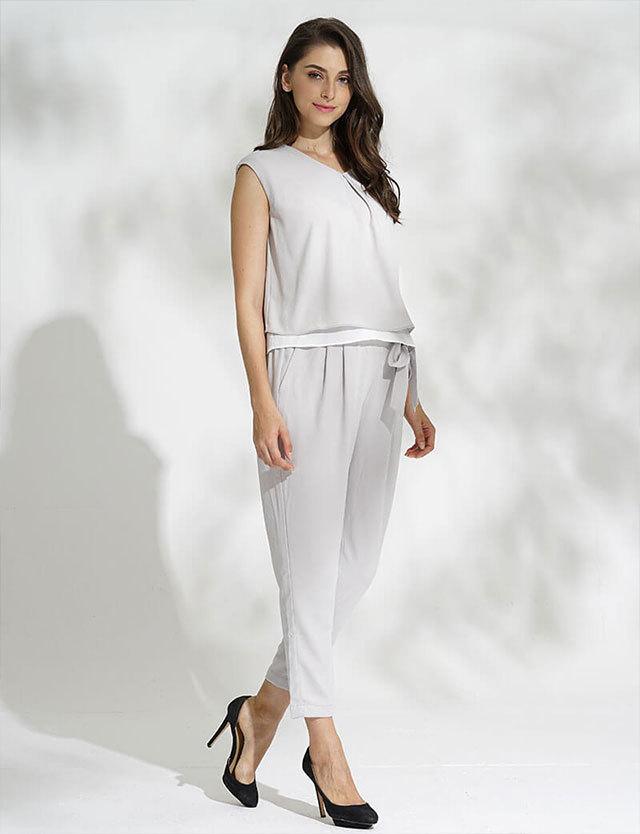 授乳服マタニティウェア フレンチスリーブ×テーパード セットアップ sj6036