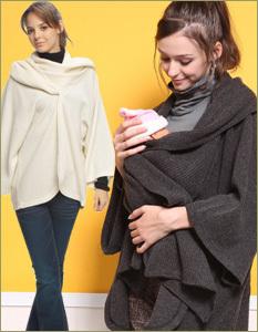ラムウールコート ママも赤ちゃんも暖かい…上質ラムウールのおしゃれコート マタニティウェア&ママコート[sm01]