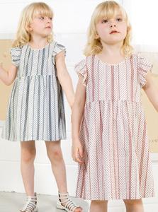 スウィートフェアリーズ ドットプリントコットンワンピース yy8006 ベビー服/子供服