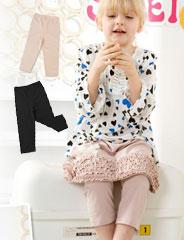 【S】スウィートフェアリーズ シンプルキッズレギンス sf8009 子供服/女の子/ベビー服/スカート