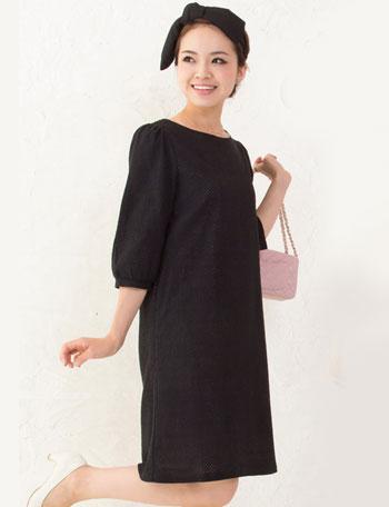 コットン100% 総刺繍レース 授乳ワンピース so5108 授乳服マタニティウェア