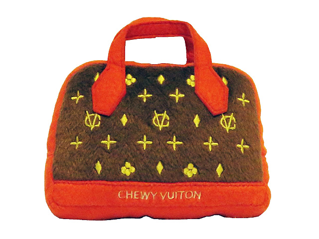 【Dog Diggin Designs】Chewy Vuiton Posh Purse Toy