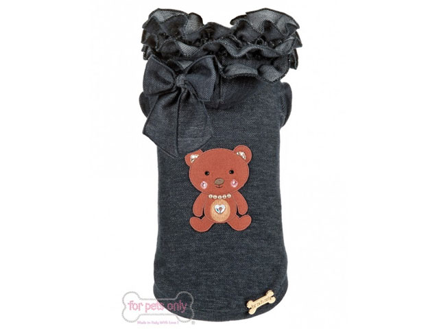 【For Pets Only★フォー・ペッツ・オンリー】Ruffles Bear T-Shirt