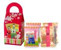 2017新商品【萩月ひな祭りBOX】(はなよせ2袋、ちょこあられ2袋