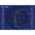 光るポスター 北天夜光大星図