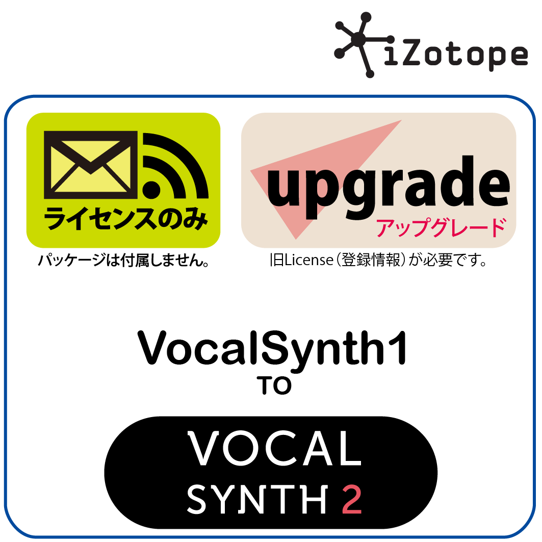 VocalSynth1 to VocalSynth2 UPG