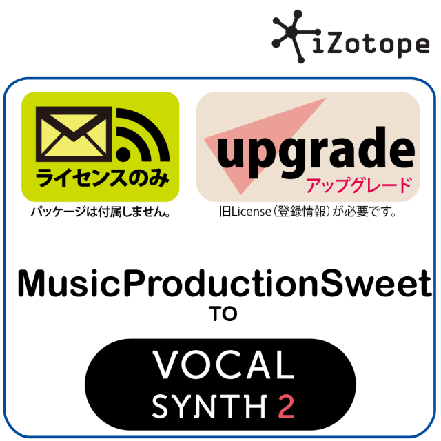 MusicProductionSuite to VocalSynth2 UPG