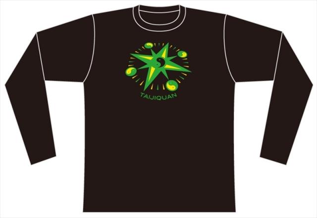 Taijilogo Tシャツ#015L(長袖:ベーシック)