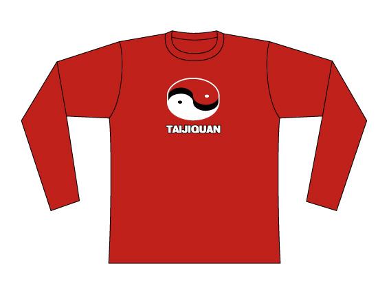 Taijilogo Tシャツ#002L (長袖)