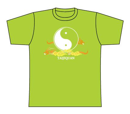 Taijilogo Tシャツ#201S (半袖:カラフル)