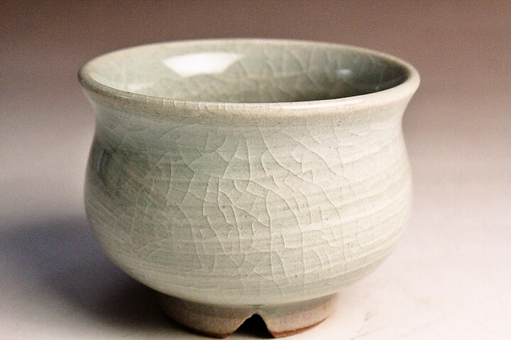 萩焼(伝統的工芸品)ぐい呑刷毛姫丸