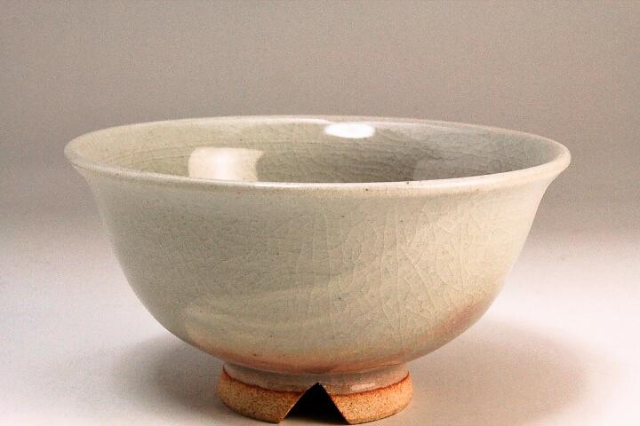 萩焼(伝統的工芸品)飯碗刷毛姫朝顔(ミニ)
