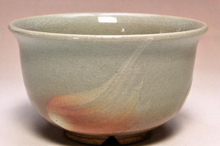 萩焼(伝統的工芸品)汁碗刷毛姫丸(ミニ)
