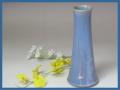 伝統的工芸品萩焼・花入青釉円錐形ヘラメ