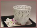 萩焼(伝統的工芸品)フリーカップ鬼白呉器えくぼ
