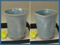 萩焼(伝統的工芸品)タンブラー青釉(端反or四方)