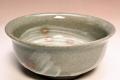 萩焼(伝統的工芸品)小鉢刷毛青丸朝顔