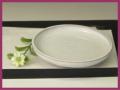 萩焼(伝統的工芸品)小皿白萩丸