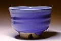 萩焼(伝統的工芸品)抹茶碗青釉端反