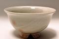 萩焼(伝統的工芸品)飯碗刷毛姫朝顔