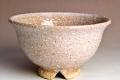 萩焼(伝統的工芸品)飯碗鬼萩朝顔