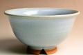 萩焼(伝統的工芸品)飯碗淡青釉朝顔