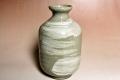 萩焼(伝統的工芸品)徳利刷毛青肩衝