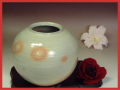 伝統的工芸品萩焼・つぼ刷毛姫丸小・簡易包装対応