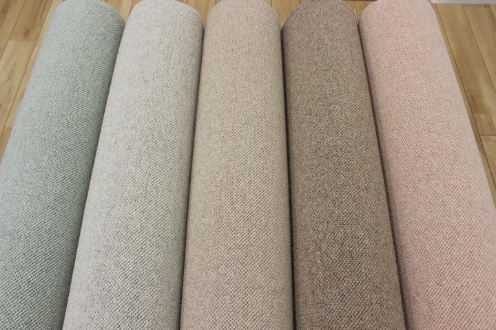 ウール カーペット 防音  絨毯 じゅうたん 日本製 厚手 防炎 6帖 ウール100% 【バルベーラ】 江戸間 6畳 261×352cm
