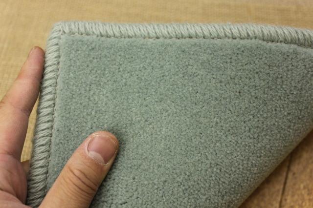 廊下敷き絨毯/じゅうたん 高機能ウール100%レベルカット 【ボン2】 幅80×長さ340cm