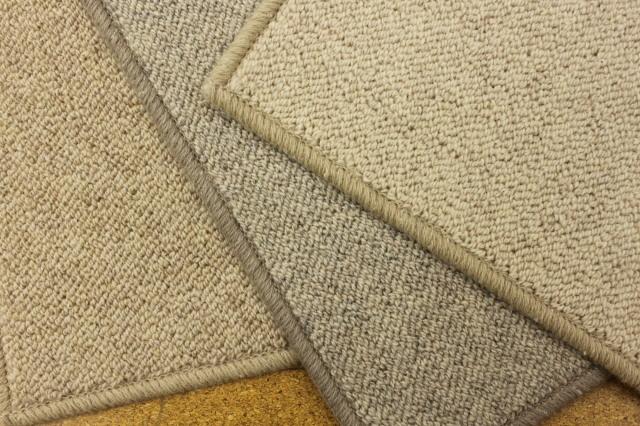天然素材ウール100%廊下敷きじゅうたん/カーペット【バクラ】 幅75×長さ250cm