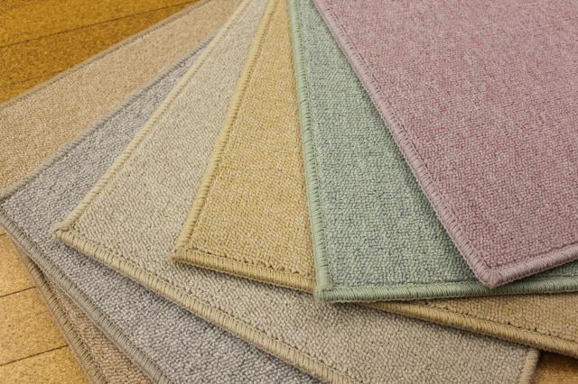 格安!高機能ループ廊下(ローカ)敷きカーペット/絨毯 【ミックス】 幅80×長さ540cm