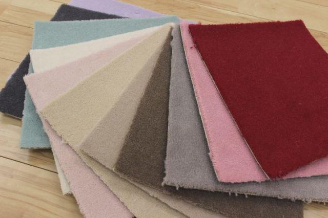 廊下敷き絨毯/じゅうたん 高機能ウール100%レベルカット 【ボン2】 幅75×長さ250cm
