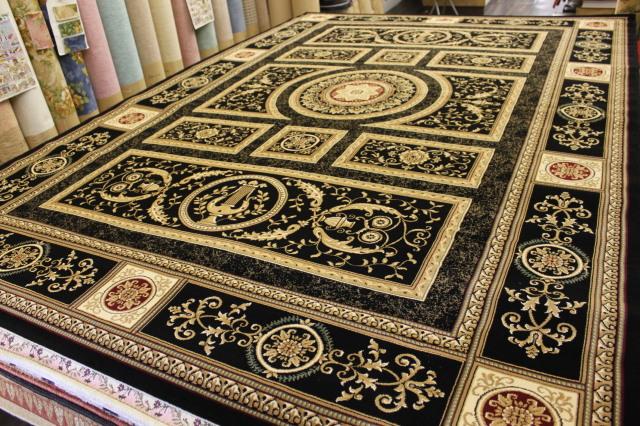 ロングセラー75万ノット!最高級ベルギー絨毯/カーペット【シェラサド】 約6畳 240×340cm