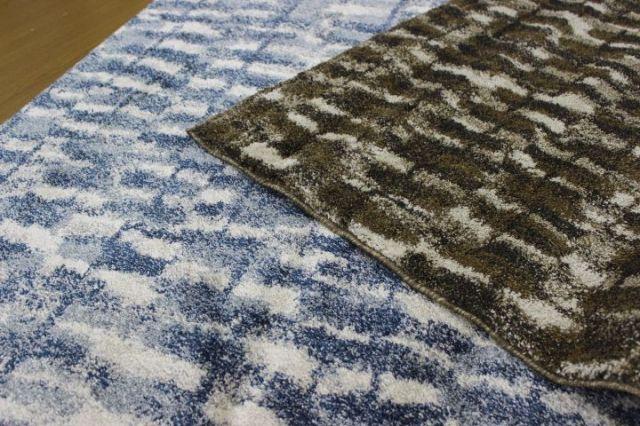 NEW 高級セミシャギー ベルギー製 ウィルトン織 ラグ カーペット 絨毯 【商品名 フレアー】 約1.5畳 135×190cm
