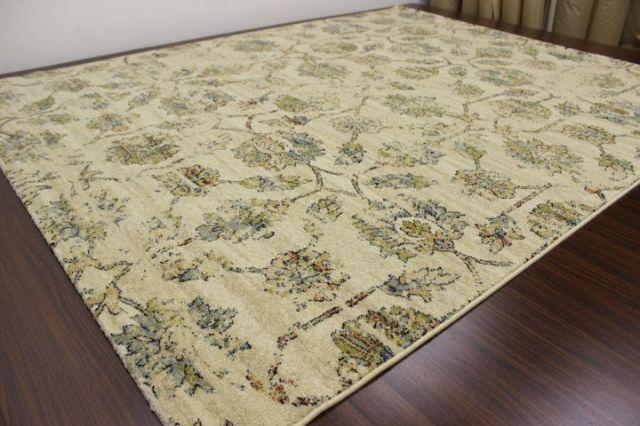 《再値下げしました!》最終価格の早い者勝ち!約70%OFF ベルギー製 ウィルトン織り ラグ カーペット 絨毯 じゅうたん 【品名 ルション】 約1.5畳 133×195cm