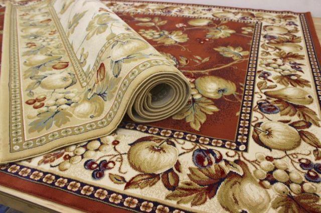 残りわずか!最終見切り品 ベルギー製 ウィルトン織り 35万ノット絨毯/カーペット 【品名 ニューパラダイス】 3畳床暖適応サイズ 200×290cm