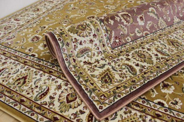 信じられない安さ!超目玉品 トルコ製 ウィルトン織り 47万ノット 良質 カーペット 絨毯 【品名 ウィル&スピカ】 約3畳 200×250cm