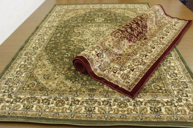 緊急値下げ!トルコ製 ウィルトン織り クラシック柄 カーペット じゅうたん 絨毯 ラグ 【品名 エルマス/スーパー】 約3畳 200×250cm
