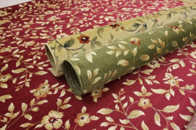 ラグ カーペット 絨毯 トルコ製 ウィルトン織り 防炎加工 花柄 高級 大幅値下げしました 【品名 廃盤/ニューパスト】 1.5畳 約130×190cm