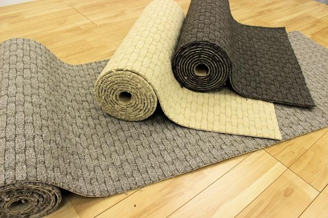 NEW!日本製ナイロン100%高機能 廊下敷きカーペット じゅうたん 【メドレーライン】  幅67×長さ340cm