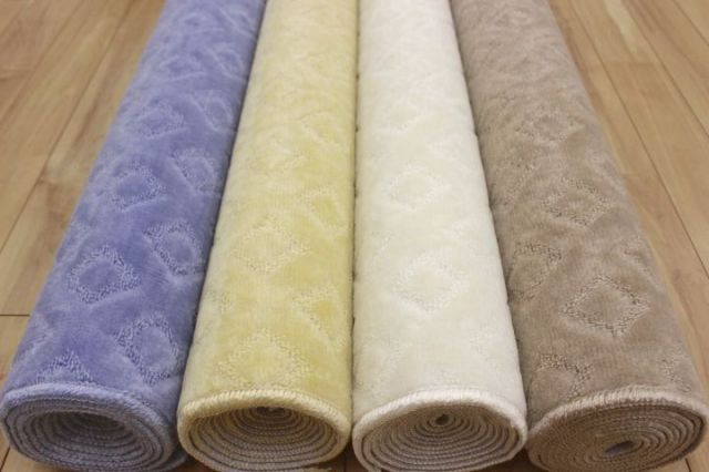 これは安い!カーペット 絨毯 じゅうたん 天然キサン練り込み 防臭  抗菌 6帖 人気 【品名 パーソル】 江戸間 6畳 261×352cm