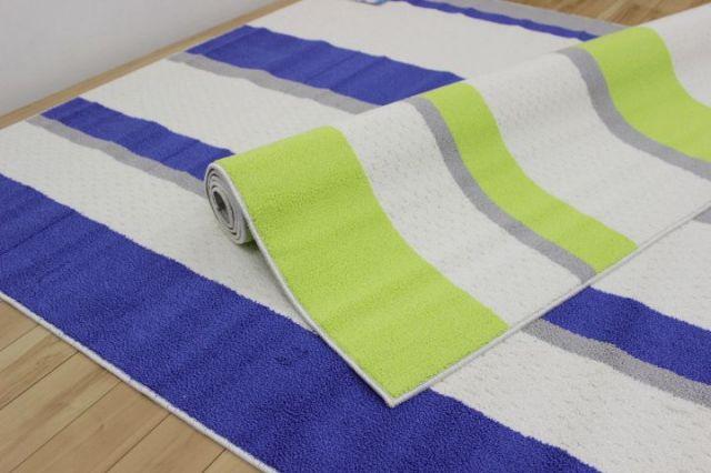スミノエ ラグ カーペット 3畳 ひんやりクール 日本製  シェードライン 190×240cm 値下げ