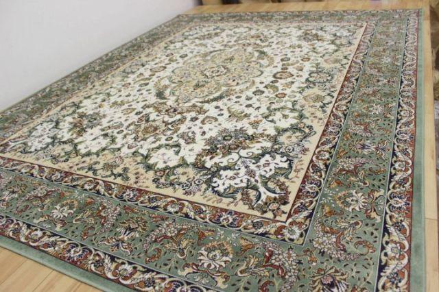 廃盤/大幅値下げ ベルギー製 モケット織り カーペット ラグ 絨毯 品名 PR-14009 約6畳 230x330cm