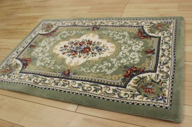 在庫大処分! ベルギー製 ウィルトン織り 玄関 カーペット 品名/リスカム 60×90cm