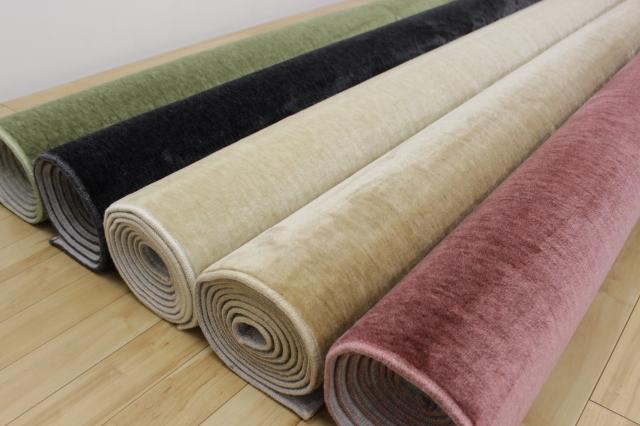日本製 6畳 防音 LL-35 絨毯  じゅうたん ミンクタッチ 大サービス価格 品名/オーシャン/オースギ 江戸間6畳 261×352cm